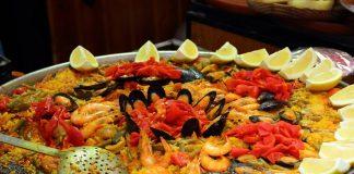 paella spaniola cu pui