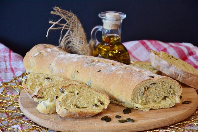 Paine italiana cu ulei de masline
