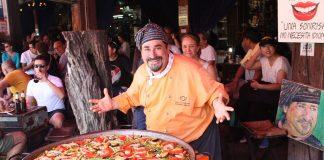 Mancare traditionala Spania: paella cu pui