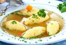 Retete traditionale romanesti: supa cu galuste de post