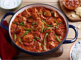 mancare traditionala spania curry de curcan si orez cu legume