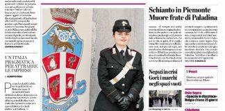 Captură a ziarului L`Eco di Bergamo SURSA: Rotalianul.com