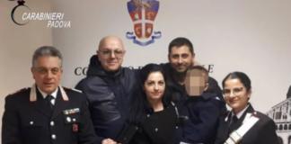 FOTO: Carabiniei Padova
