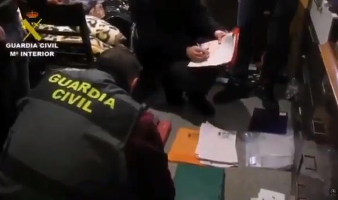 FOTO: Captură video Guardia Civil